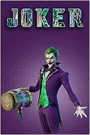 Fortnite Joker Notebook Lined Notebook Art Ag Fremdsprachige Bücher