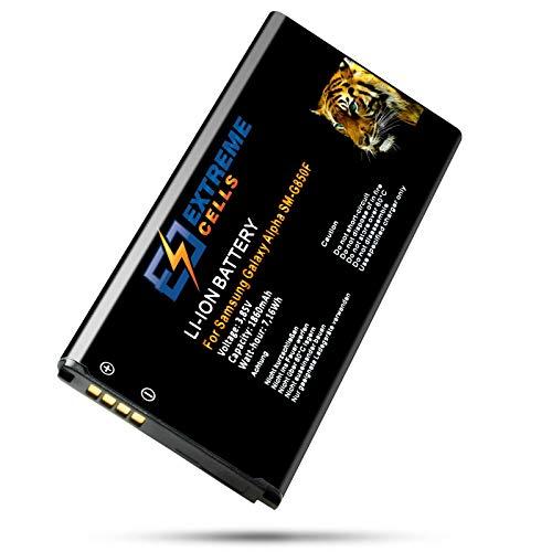 Extremecells EB-BG850BBE - Batteria per Samsung Galaxy Alpha SM-G850F