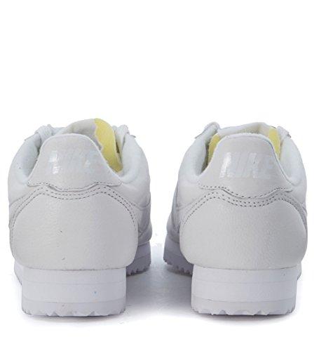 Nike W Classic Cortez Leather Prem, Scarpe da Corsa Donna Blanco (Blanco (white/white))