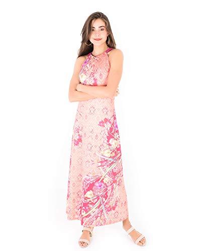 Smash! Dress Stevie, Lang geschnittenes Kleid mit orientalischem Flair im Neckholder-Style, Größe S