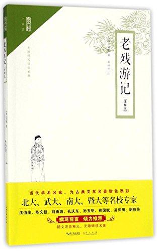 中国古典世情小说丛书:老残游记