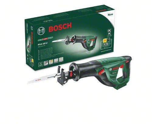 Bosch Akku Säbelsäge PSA 18 LI (ohne Akku, Sägeblatt, Karton, 18 Volt System, 2,5 Ah) - 2