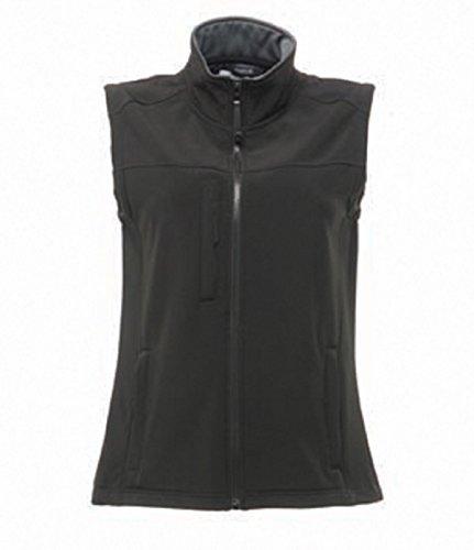 Regatta - Gilet softshell - Femme Black / Seal Grey