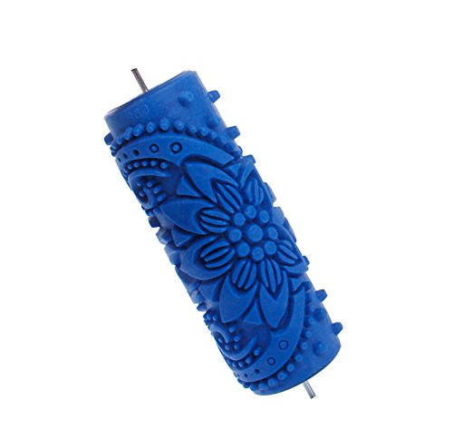 15cm Rollen Blume geprägte Malerei Roller Tool für DIY Wandgestaltung -