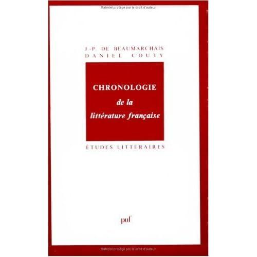 Chronologie de la littérature française de Daniel Couty,Pierre-Augustin Caron de Beaumarchais ( 1 juin 1991 )