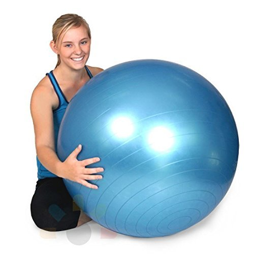 Vinsani-65cm-Gym-Improve-Balance-Stability-Fitness-Develop-Control-Increase-Back-Abdominal-Strength-Build-Tone-Body-Core-Muscles-Exercise-Ball