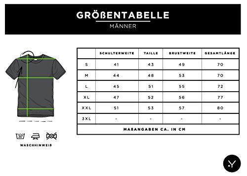 Key Largo Herren T-Shirt PRIME Totenkopf Rosen Vintage Look Sommershirt Grün