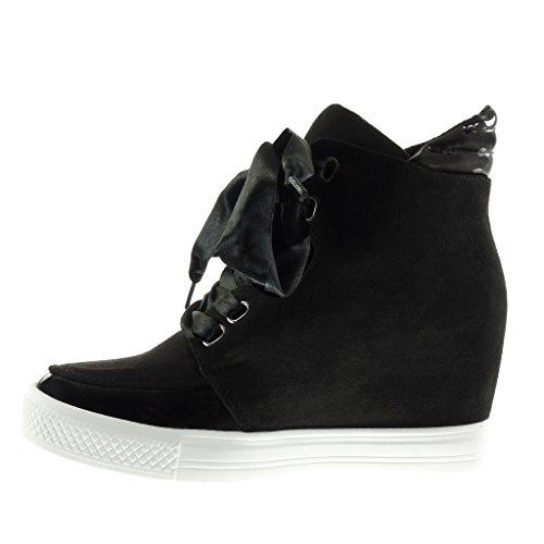 Sneakers nere con tacco a zeppa per donna Angkorly Comprar Barato Eastbay wdSCO