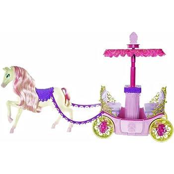 Barbie caleche feerique mattel jeux et jouets - Caleche barbie ...