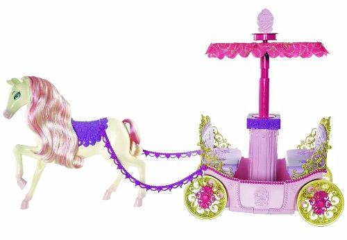 Barbie Mattel W3895 Traumkutsche mit Verdeck