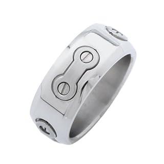 Aqualine Edelstahl Fingerring Ring SR5 , size:65 (20.7)