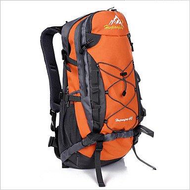 40L L Tourenrucksäcke/Rucksack Rucksack Camping & Wandern Klettern Fitness Legere Sport Reisen Radsport Draußen Leistung Legere Sport Orange