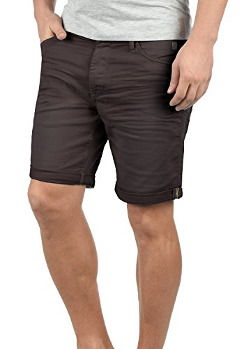 Blend Diego Herren Jeans Shorts Kurze Denim Hose Aus Stretch-Material Slim Fit, Größe:M, Farbe:Shale Brown (75118)