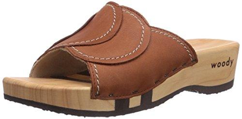 Woody Vanessa , Chaussures femme Marron - Marron (Cuir)
