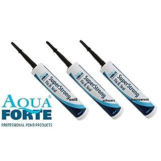 AquaForte Kleber Superstrong MS Polymer, Schwarz, Kartusche 290ml