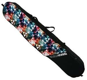 Borsa porta Snowboard custodia per tavola custodia Saccp Space 165 cm Triangles [051]
