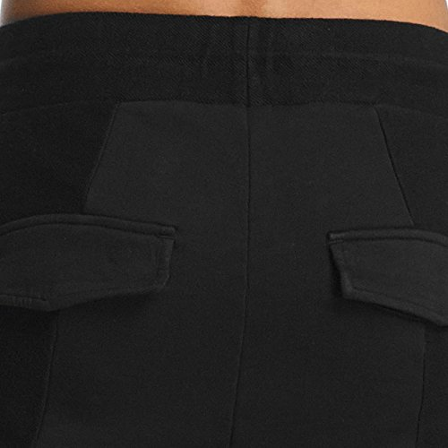 Cayler & Sons Twoface Cropped Pantalone da tuta Nero