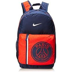 Nike Y Y NK Stadium PSG Bkpk Sac à Dos Mixte Adulte, Multicolore (Midnight Navy/Challe), 15x24x45 Centimeters (W x H x L)