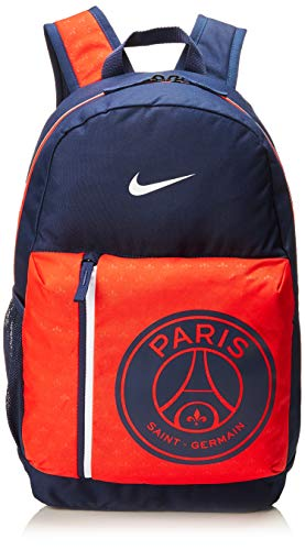 Nike Kinder Stadium Paris Saint-Germain Rucksack, Midnight Navy/Challenge Red/White, 50 x 30.5 x 15 cm -