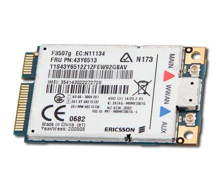 Lenovo Thinkpad UMTS - 3G Modul Ericsson F3507g HSDPA - T400, T500,...