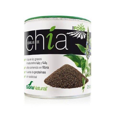 Soria Natural Chia Semillas Ácidos Grasos Esenciales - 250 gr