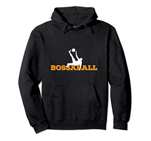 Bossaballer Bossaball Spieler Athlet Team Trainer Anhänger Pullover Hoodie