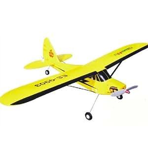 OEB Mini Piper J3 Cub 4CH RC télécommande Avion ES-9903 RTF