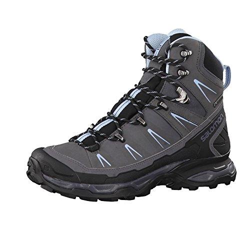 Salomon X Ultra Trek GTX W, Chaussures de Randonnée Hautes Femme, Noir, 49.3 EU