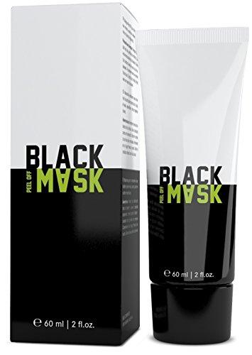 S&S Commerce ♥ Black Peel Off Mask ♥ Anti Mitesser Maske zur Tiefenreinigung und Porenreinigung| für reine Haut im Gesicht | 60 ml Blackhead Removal Maske geeignet als Mitesserentferner
