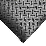 Diamant Caoutchouc Garage Soling Tapising 3 x 1.5m Large 3mm Épais Sol Tapis