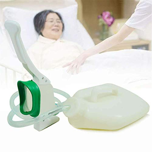 Große Frauenurinal, Silikon multifunktionales Töpfchen 1500ML mit 1.2M Rohr – für Krankenhaus, Zuhause, sicheres Urinieren im Stehen oder Hocken