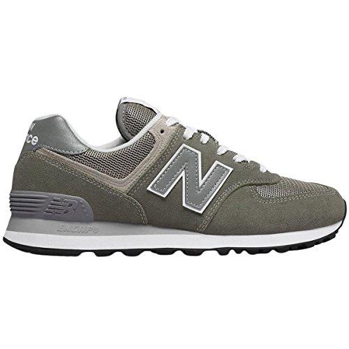 New Balance Damen Wl574EB Sneaker, Grau (Grey), 40 EU (574 Laufschuh)