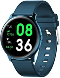 KW19 Smart Watch Women Men Sports Smart Bracelet Blood Pressure Blood Oxygen Heart Rate Sleep Monitor Message Reminder for Android iOS, Smartwatches Fitness Tracker