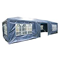 Airwave 3 x 9m Party Tent Gazebo Marquee with 3 x Unique WindBars and Side Panels 120g Waterproof Canopy 16
