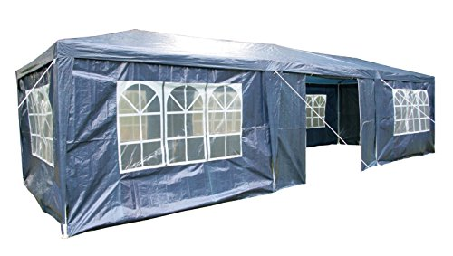 Airwave 3 x 9m Party Tent Gazebo Marquee with 3 x Unique WindBars and Side Panels 120g Waterproof Canopy 1