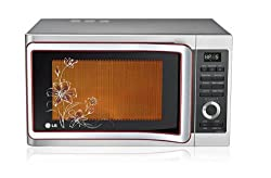 LG 28 L Convection Microwave Oven (MC2881SUP, Floral Pattern)