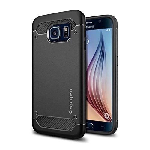 Spigen SGP11439 - Funda para Samsung Galaxy S6, color negro