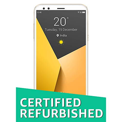 (CERTIFIED REFURBISHED) InFocus Vision 3 (Premium Gold, 18:9 FullVision Display)
