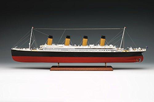 Preisvergleich Produktbild Amati RMS Titanic 1912 hölzerne Schiff Modellbau Bausatz 1/250