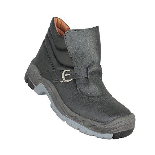 Gsa Soldador Mais Hro Src Sapatos De Segurança Sapatos De Trabalho S3 Alta Preta
