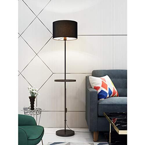 QTDH LED-Fußboden-Licht Mit Lagerung Regal, Moderne Standard-Stehlampe Aus Metall Scratch Proof Einstellbare Standing-Lampe for Schlafzimmer Oder Büro -
