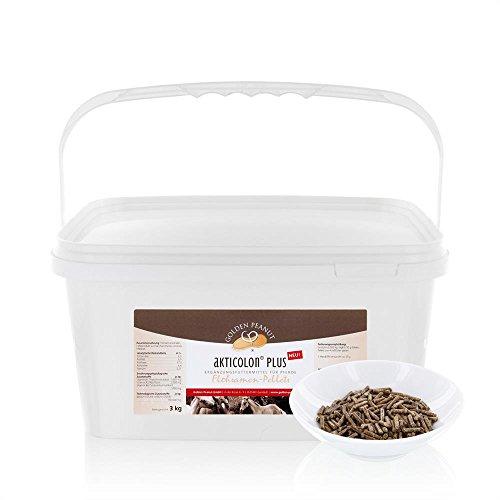 3 kg Akticolon PLUS Flohsamenpellets Prebiotic Bentonit Vitamin B Komplex