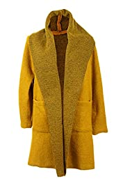 82ca8826b6b1 Jay-Fashionbox Damen Jacke Übergangsjacke Trenchcoat Herbst Mantel aus  Wolle mit XXL Kapuze Kurzmantel Wollmantel