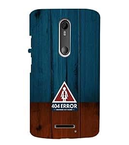 EPICCASE 404 Error Girlfriend not found Mobile Back Case Cover For Moto X 3rd Gen (Designer Case)
