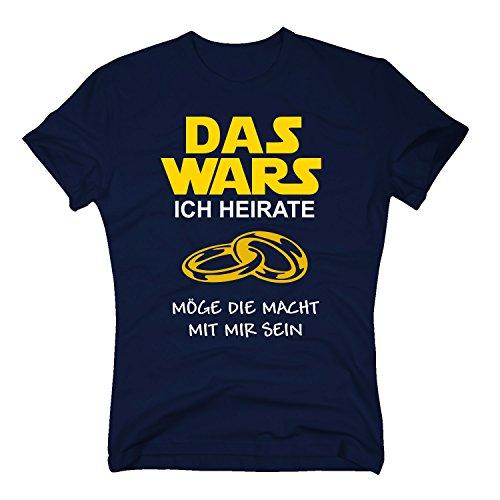 Das Wars Shirt Herren - Ich Heirate - -