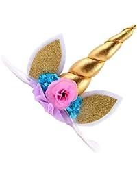 MagiDeal Serre Tête Fleur Dessin Bandeaux Cheveux Multicoloré Tiara Accessoire Bijoux Bébé