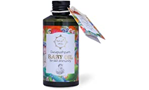 Nature's Veda Dasapushpam Baby Oil (150ml)