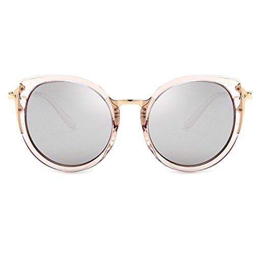 XGLASSMAKER Frauen Sonnenbrille Hd Echtfarbe Herren Sonnenbrille Sonnenbrille Fahrer Brille, E