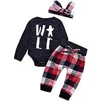 Abbigliamento Neonato Inverno Autunno Tute Bimbo 6-9 12-18 Mesi 3Pcstoddler Bambino  Ragazzi e5f85249d29