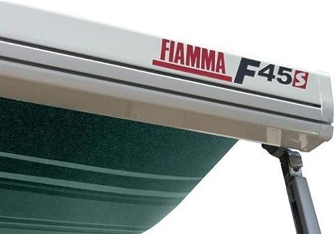 Fiamma Campingartikel F45S 260cm Wohnmobil Markise Vordach, weiß/Evergreen (06280h01e)